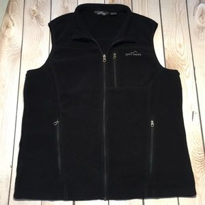 Eddie Bauer men's Tall fleece vest